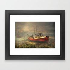 On The Estuary Framed Art Print