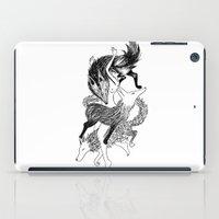Femme Loup Tattoo iPad Case