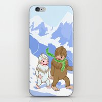 Snow Day! iPhone & iPod Skin