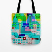 Glitch 002 Tote Bag