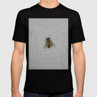 Bee Mens Fitted Tee Black SMALL