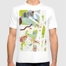 Level Mens Fitted Tee SMALL White