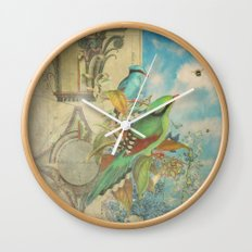 Birds and Bees Wall Clock