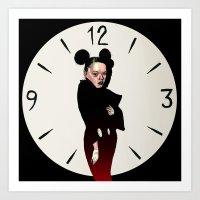 Asja Mickey Art Print