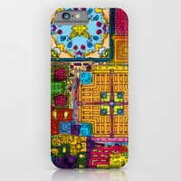 Colourful collage iPhone 6 Slim Case