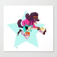 Pup Rocks Canvas Print