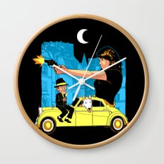 Film Couleur Wall Clock