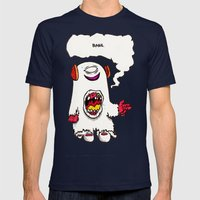 Bang Mens Fitted Tee Navy SMALL