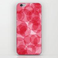 Celebrate with pink! iPhone & iPod Skin