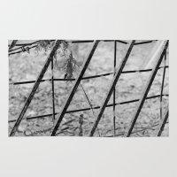 Shades of Fence Rug