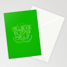 Believe in yourself Stationery Cards