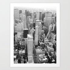 New York - Traveling series Art Print