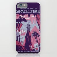 iPhone Cases featuring Space and Time by jublin