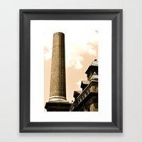 Smokestack Framed Art Print