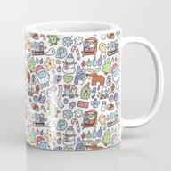 Christmas Doodle Mug