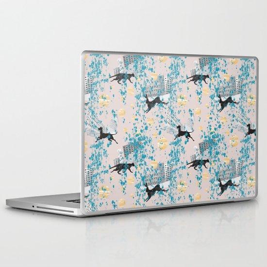 weird city Laptop & iPad Skin
