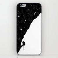 Night Climbing iPhone & iPod Skin