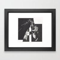 dif 0.2 (Vacancy) Framed Art Print