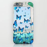 "iPhone Cases featuring ""Butterfly Zone"" by Ginger Pigg Art & Design"