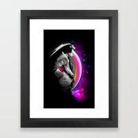 INFINITE CAT  Framed Art Print