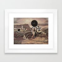 Spheroid Framed Art Print