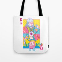 King Of Nothing, Queen O… Tote Bag