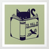 How To Kill A Mockingbir… Art Print