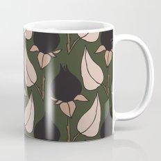 Black Rose Print  Mug