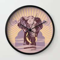 Patience & Wisdom Wall Clock