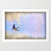 Swift Flight Art Print