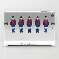 table football - Barcelona iPad Case