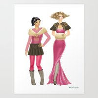 Fashion Journal: Day 18 Art Print