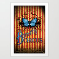 The Butterfly Circus Off… Art Print