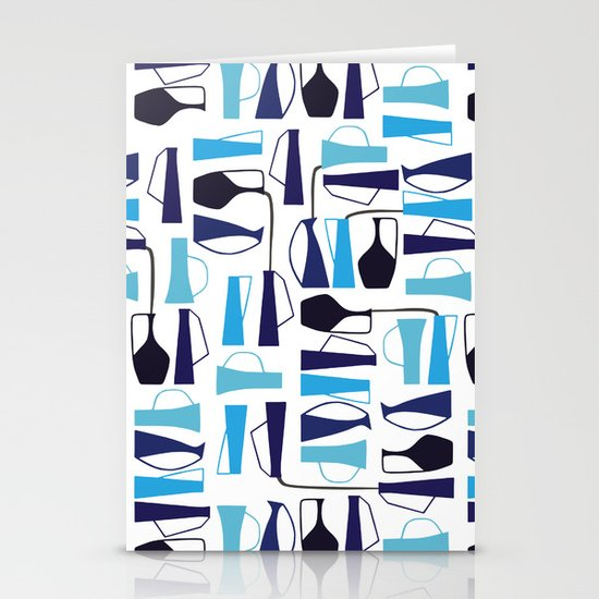 pouring pots Stationery Card