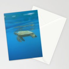 Hawaiian Green Sea Turtle Stationery Cards