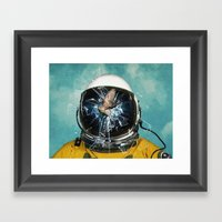 The Escape 2 Framed Art Print