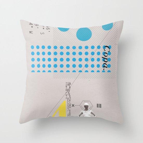 Copa. Throw Pillow