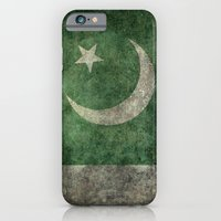 iPhone Cases featuring The National Flag of Pakistan - Vintage Version by LonestarDesigns2020 - Flags Designs +