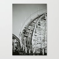 Rollercoaster Maintenance Canvas Print