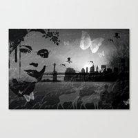 City in nature Canvas Print