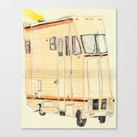 THE RV Canvas Print