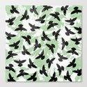 Birds / 1 Canvas Print