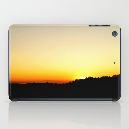 Warm Sunset iPad Case