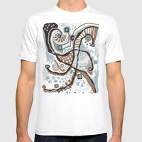 Crowded land  Mens Fitted Tee White SMALL