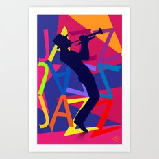 Big Jazz Art Print