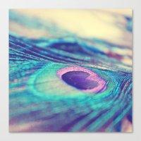 A Little Glimmer Canvas Print