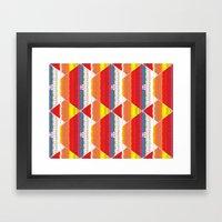 Overlap 2 Framed Art Print