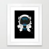 Gamernauts Framed Art Print
