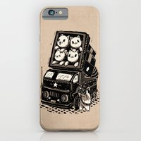cats iPhone & iPod Cases featuring Cats by Ronan Lynam