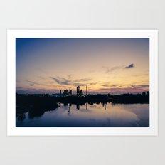 City of Industry Art Print